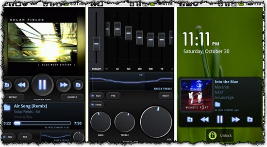 PowerAMP 1.1.326 application for Android