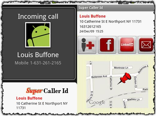 Super Caller Id 1.42 application for Android
