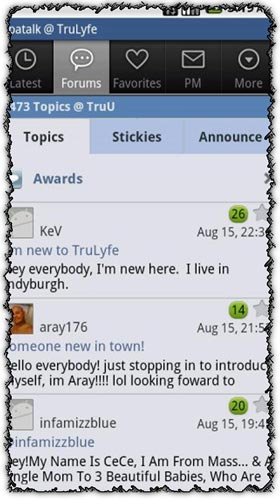 Tapatalk Forum App Pro 1.11.2 application for Android