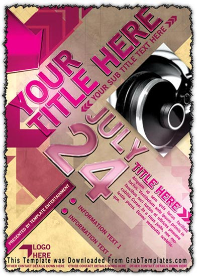 Photoshop Flyer Template Design