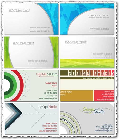 Business Cards Templates - Business cards examples templates