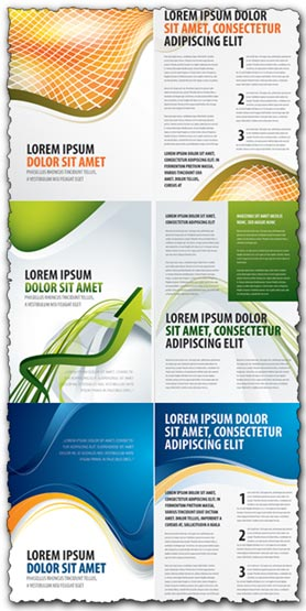 3 brochures vectors for your design
