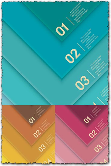 Numbered vector labels