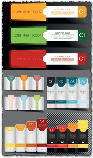 Business vector banners