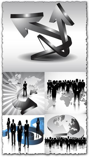Creative business concepts vectors