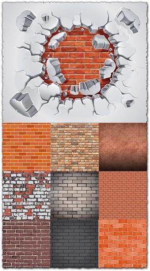Vector bricks templates