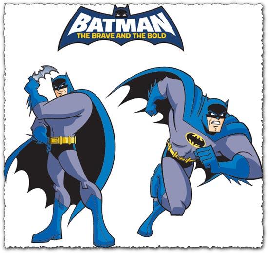 Cartoon Characters Vector : Batman cartoon character vector