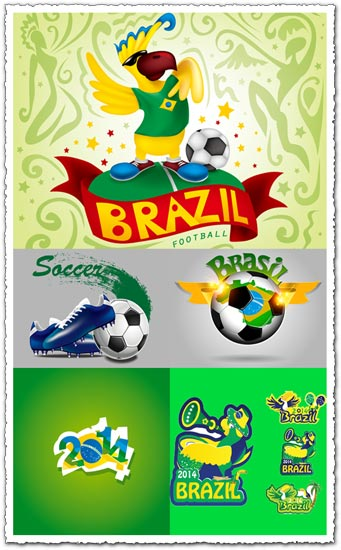 2014 Brazil World Cup vectors