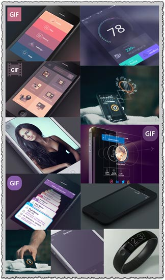 25 animations of mobile user interfaces