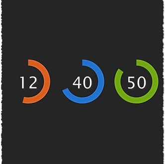 How to do a beautiful clock using CSS and jQuery