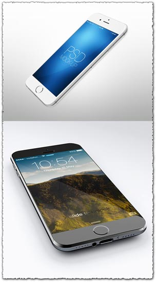 Iphone 6 Photoshop mockup