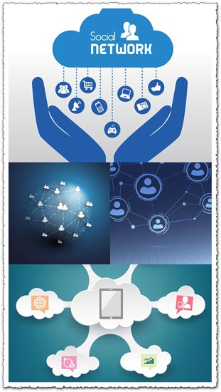 Social media network vectors