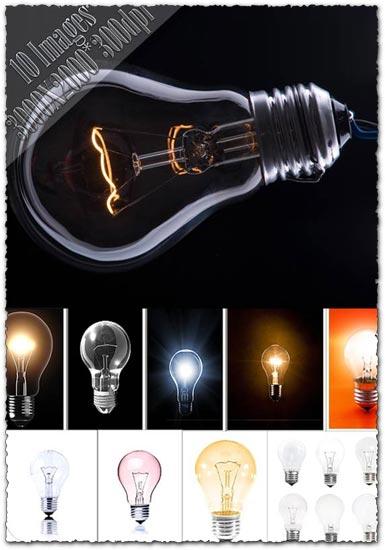 Bulb lights shapes images
