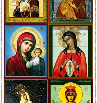 Russian orthodox icons