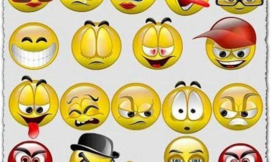 Animated GIF emoticons smileys icons