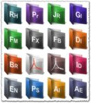 Adobe folder collection set