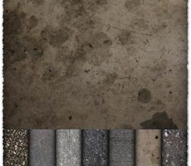 Concrete textures collection