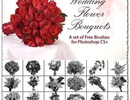 wedding floral brushes photoshop free download