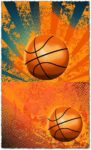 Abstract basketball vectors