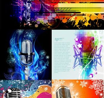 Abstract microphone template vectors