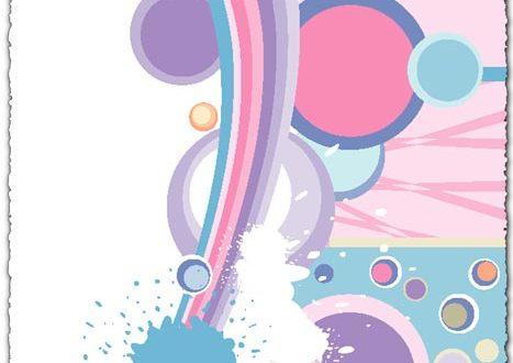 Splatter abstract vector eps