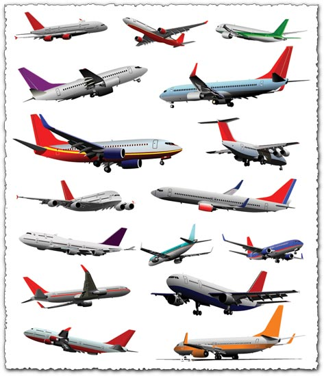 Airplanes vector models