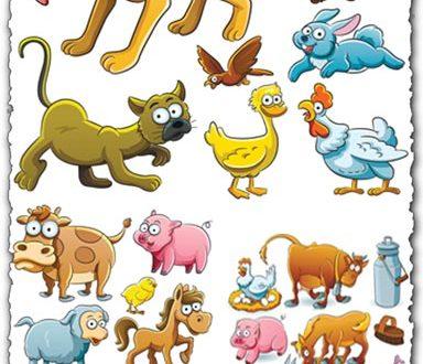 Animal farm vectors