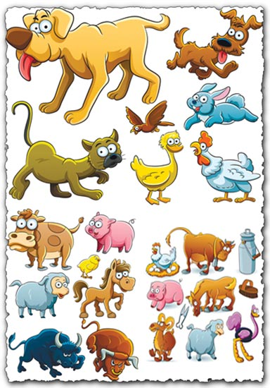 Animal farm vectors