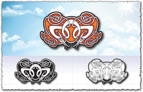 Arabic ornaments vector patterns