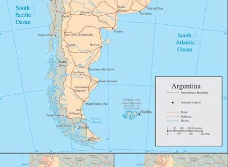 Argentina vector maps