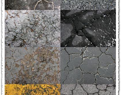 Asphalt textures design