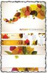 Autumn vector banners