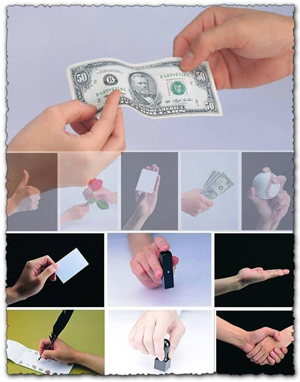 Background stock images with hands