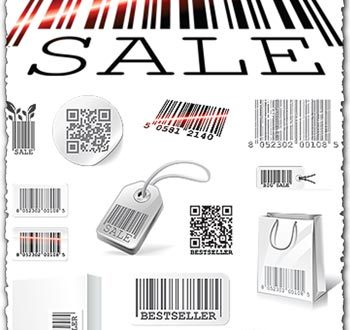 Barcodes vector templates