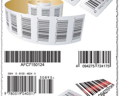Bar codes vectors