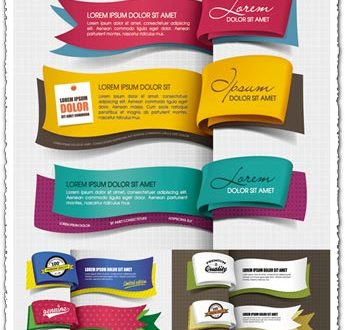 Bookmark vector labels