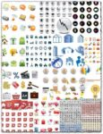 Business and shopping vector icons