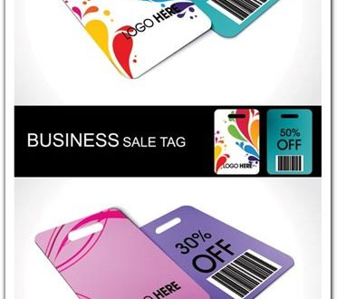 Business sale tags vectors