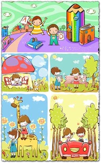 Children books and illustrations