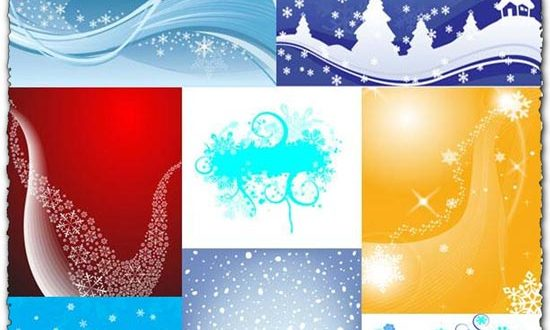 Christmas background vectors