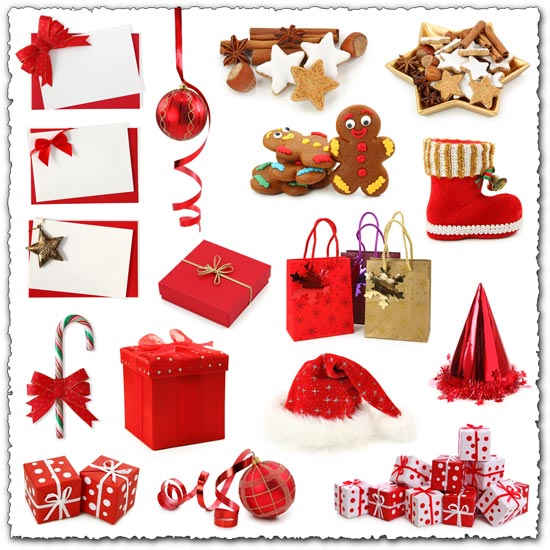 Christmas gifts cliparts