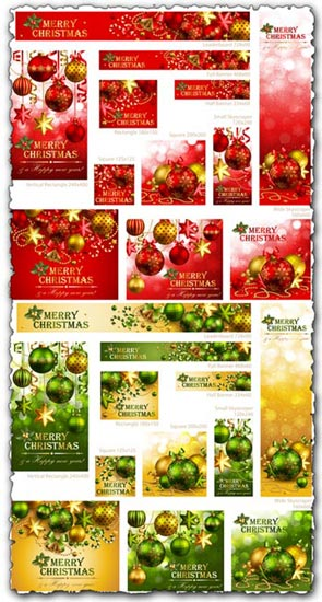 Christmas vector banners