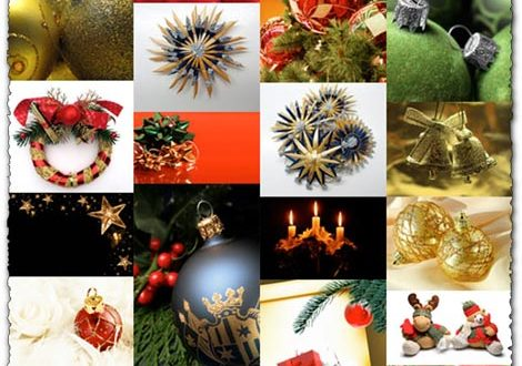 Christmas gifts and light balls images