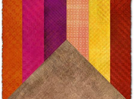 Colored and natural fabric textures