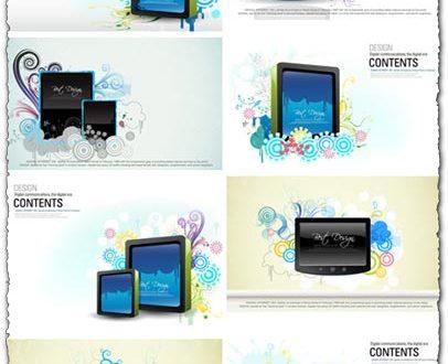 Digital billboard vectors