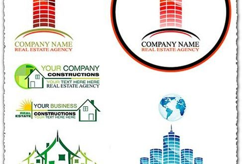 Construction logo vector collection
