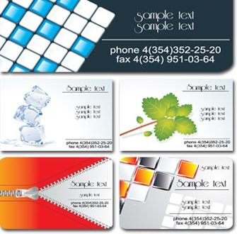 Corporate business cards for Photoshop