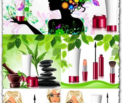 Cosmetic and spa vectors