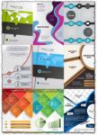 Creative brochure cover vectors