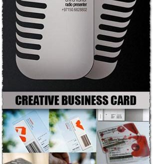 Creative business cards collection